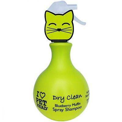 "Shampoing chat - Shampoing pour Chat ""Dry Clean"" Spray sans Rinçage - 450 ml"
