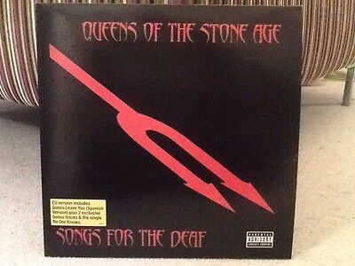 Queens Of The Stone Age Songs For The Deaf Vinyl 2 Lp Red Vinyl New
