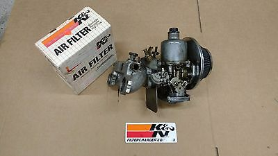 """Classic Mini HIF 44 Carb 1 3/4"""" with MG Inlet and K&N Cone Filter"""