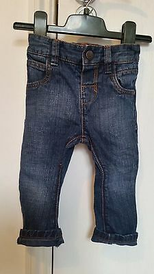 Next Baby Boys Denim Jeans Size 6-9 Months Great Condition