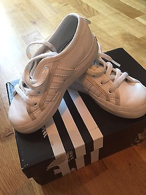 Adidas Girls Nizza Trainers