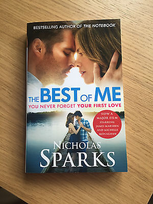 The Best of Me by Nichola Sparks Paperback Book