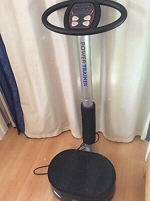 VGC power trainer / vibration fitness plate