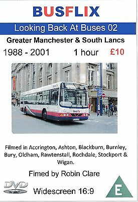 Looking Back at Buses 02 Greater Manchester & South Lancs 1988 - 2001