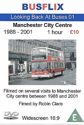 Looking Back at Buses 01 Manchester City Centre 1988 - 2001