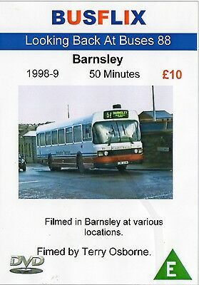 Busflix Films Looking Back at Buses 088 Barnsley 1998-9 50 minutes