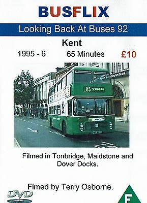 Looking Back at Buses 92 Kent 1995 - 6 65 minutes