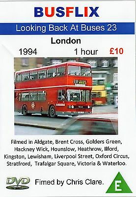 Looking Back at Buses 23 London 1994