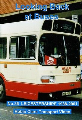 Looking Back at Buses 36 Leicestershire 1988 - 2001