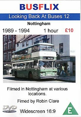 Looking Back at Buses 12 Nottingham 1989 - 1994