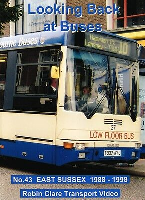 Looking Back at Buses 43 East Sussex 1988 - 1998