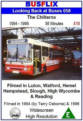 Looking Back at Buses 58 The Chilterns 1994 - 1996