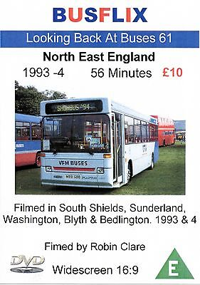 Looking Back at Buses 61 North East England 1993 - 1994