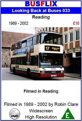 Looking Back at Buses 33 Reading 1989 - 2002