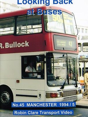 Looking Back at Buses 45 Manchester 1994 - 1995