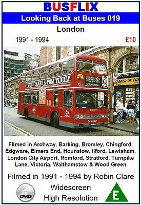 Looking Back at Buses 19 London 1991 - 1994