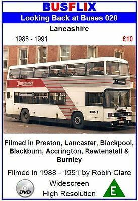Looking Back at Buses 20 Lancashire 1988 - 1991