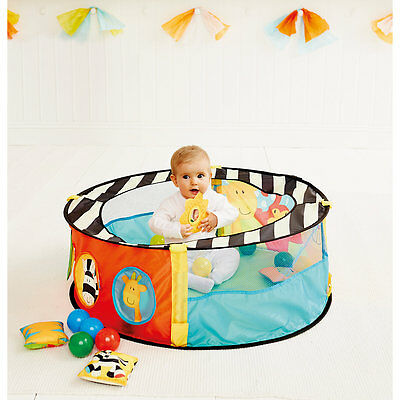 New ELC Boys and Girls Sensory Ball Pit Baby Toy From 6 months