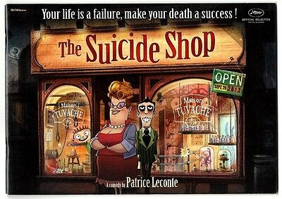 The Suicide Shop 2012 Animation photo press book for Cannes