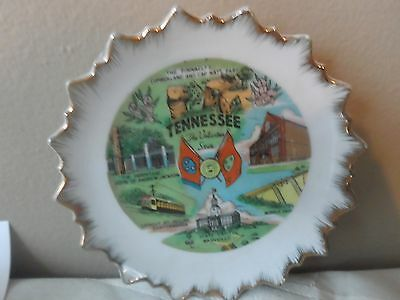 "Tennessee The Volunteer State 5""  Collector Plate"