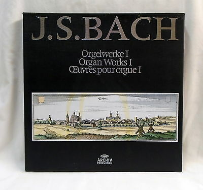 Archiv 2722014 - Bach Organworks 1 -  8 LP box set