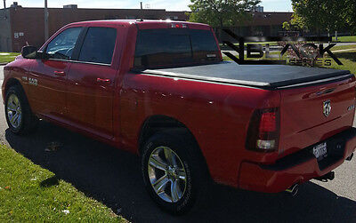 Dodge Ram 5.7Ft Box - 2009-2017 - Tri-Fold Cover   Tonneau Cover   Bed Cover