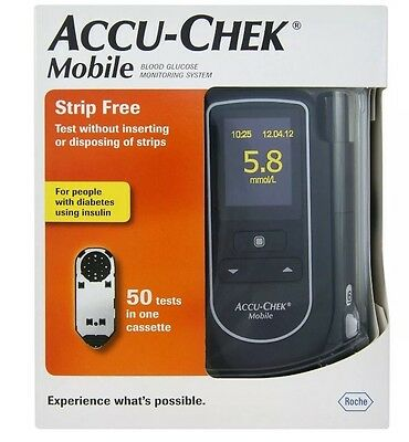 Accu-Chek Mobile Blood Glucose System##NHS RECOMMENDED##