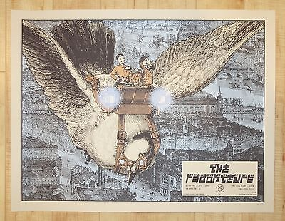 2008 The Raconteurs - NYC Concert Poster by Rob Jones