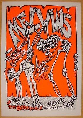 2004 The Melvins - Orangevale Silkscreen Concert Poster s/n by Paul Imagine