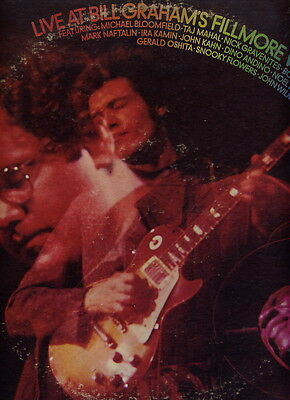 Michael Bloomfield Ee.uu. Psych Lp Live Fillmore West