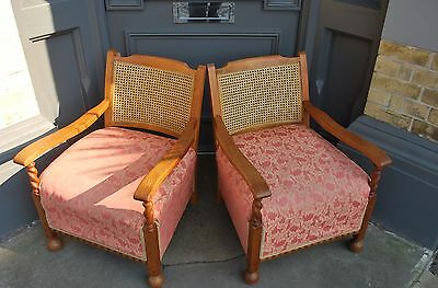 Pair of French Bergère Chairs