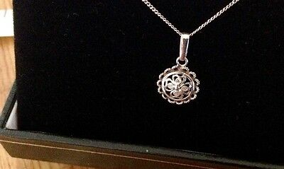 Vintage Silver Pendant and Chain