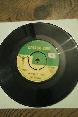 "The Paragons/happy Go Lucky Girl - Vinyl 7""45Rpm.doctor Bird.exc"
