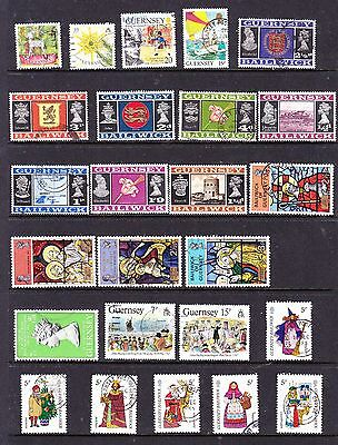 Guernsey stamps - 58 Used