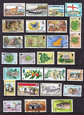 Guernsey stamps - 55 Used