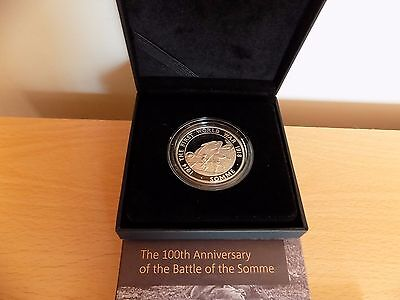Silver Proof £5 The Somme 100th Anniversary Limited Edition Coin 0823