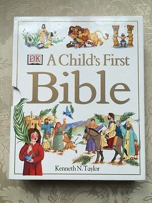 A Child's First Bible by Kenneth N. Taylor - NEW - Hardback
