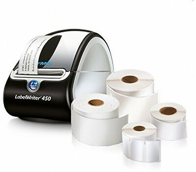 LabelWriter Super Bundle - FREE Label Printer + 4 rolls of Shipping, Mail Office