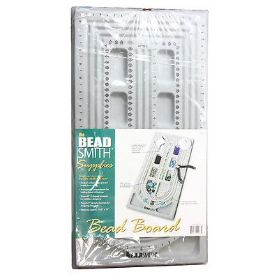 BeadSmith 3 U & Straight Channels Bead Stringing Board Flocked * Jewelry Making