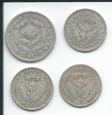 4 silver coins - Check it!