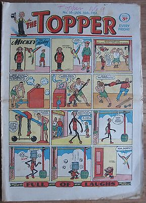 #50 TOPPER COMIC 16th JANUARY 1954 EARLY ISSUE