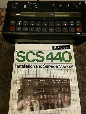 Raven SCS 440 Automatic Rate Controller
