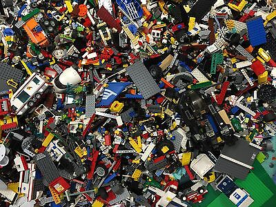 2 lbs Pounds Clean 100% Lego Parts Pieces from HUGE BULK LOT Star Wars, city etc