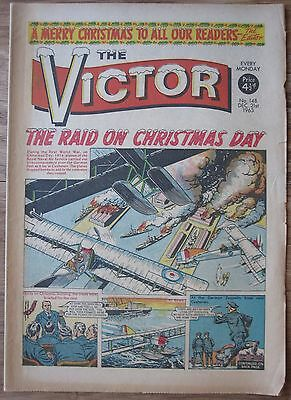 #148 VICTOR COMIC CHRISTMAS ISSUE 21st DECEMBER 1963. XMAS.