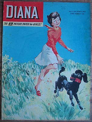 #5 DIANA COMIC 23rd MARCH 1963 EARLY ISSUE