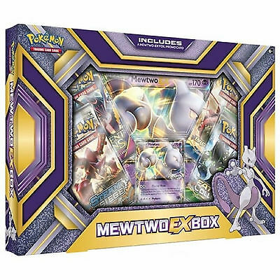 Pokemon XY Mewtwo EX Collection Box: Booster Packs + Promo Cards