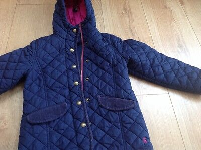 Joules Quilted Jacket aged 6