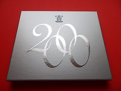2000 Royal Mint Proof Coin Set Complete With Certificate And Box
