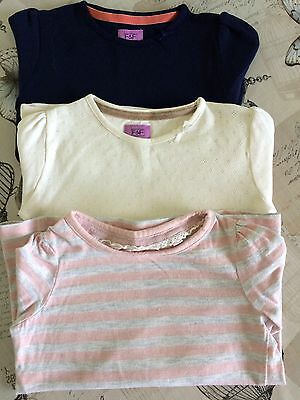 Girls 2-3 Long Sleeved Top Bundle NEXT/F&F Excellent Condition