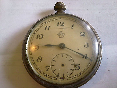 OLD POCKET WATCH thiel SATURN MADE IN GERMANY